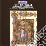 Schola Gregoriana Scriptoria - Adorate Deum cd musicale di Artisti Vari