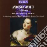 Cantate ( parte terza ) cd musicale di Antonio Vivaldi