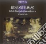 Musica Figurata - Mottetti Madrigali E Canzoni cd musicale di Giovanni Bassano