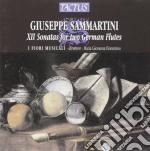 I Fiori Musicali - X Triosonate Per Due Flauti cd musicale di Sammartini