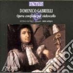 Modo Antiquo - Opera Completa Per Cello cd musicale di Domenico Gabrielli