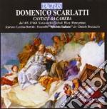 Cantate da camera parte 1 cd musicale di Alessandro Scarlatti