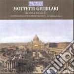 Cappella Trinite' Des Monts - Mottetti Giubilari cd musicale di Artisti Vari