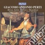 Orchestra Barocca Di Bologna - Messa, Salmi, Sinfonie E M. cd musicale di G.a. Perti