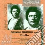 G. zenatello canta otello (1909-1928) cd musicale di Zenatello - verdi