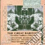 Grandi baritoni trad.italiana (1906-1945 cd musicale di Artisti Vari