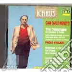 Il telefono/canti della lontananza etc cd musicale di G.c. Menotti