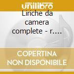 Liriche da camera complete - r. scotto cd musicale di Giuseppe Verdi