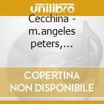 Cecchina - m.angeles peters, campanella cd musicale di Piccinni