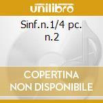 Sinf.n.1/4 pc. n.2 cd musicale di Johannes Brahms