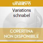 Variations schnabel cd musicale di Beethoven