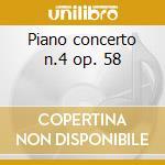 Piano concerto n.4 op. 58 cd musicale di Beethoven