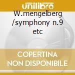 W.mengelberg /symphony n.9 etc cd musicale di Antonin Dvorak