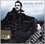 Davide Miotti - Il Volo Che Non So cd musicale di Davide Miotti