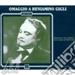 Omaggio (arie 1927 - 1946) cd musicale di Gigli b. - vv.aa.