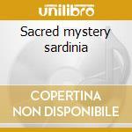 Sacred mystery sardinia cd musicale