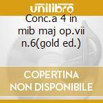 Conc.a 4 in mib maj op.vii n.6(gold ed.) cd musicale di Et Locatelli/vivaldi