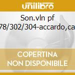 Son.vln pf kv378/302/304-accardo,canino cd musicale di Wolfgang Amadeus Mozart