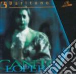 Cantolopera - Arie Per Baritono, Vol.3 - Base Orchestrale Per La Pratica Del Canto cd musicale di