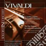 Vivaldi Antonio - Le Quattro Stagioni Per Violino E Orchestra - Base Orchestrale  - Gotta Antonello (2 Cd) cd musicale di