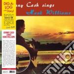 (LP VINILE) Sings hank williams andother fav lp vinile di Johnny Cash