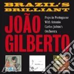 Brazil's brilliant cd musicale di Joao Gilberto