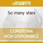 So many stars cd musicale di L.KONITZ/T.GHIGLIONI