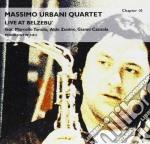 Massimo Urbani Quartet - Live At Belzebu' cd musicale di URBANI MASSIMO QUART