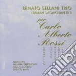 Renato Sellani Trio + E.rava - Per Carlo Alberto Rossi cd musicale di SELLANI R. feat.T.Ghiglioni/Rava
