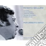 Renato Sellani - Per Umberto Bindi cd musicale di SELLANI RENATO