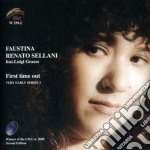 Faustina & Renato Sellani - First Time Out cd musicale di SELLANI FAUSTINA & R