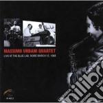 Massimo Urbani Quartet - Live At Blue Lab Rome '88 cd musicale di Massimo urbani quart