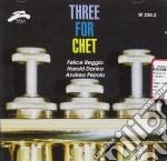 Reggio / Danko / Pejrolo - Three For Chet cd musicale di F.REGGIO/H.DANKO/A.P