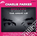 Charlie Parker - Bird's Eyes Vol.20 cd musicale di PARKER CHARLIE