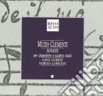 Clementi Muzio - Sonata X Pf A 4 Mani N.1 E 2 Op.3, N.2 E 3 Op.14 /duo Pianistico Gino Gorini, Sergio Lorenzi cd musicale di Muzio Clementi
