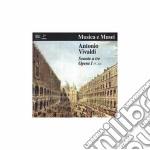 Vivaldi Antonio - Sonata A Tre X 2 Vl E Vlc N.7 > N.12 Op.i cd musicale di Antonio Vivaldi