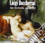 Boccherini Luigi - Sinfonia N.4, 5 E 6 Op.35 cd musicale di Luigi Boccherini