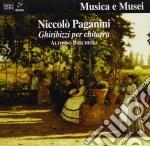 GHIRIBIZZI X CHITARRA (M.S.43, CA 1820) cd musicale di Niccolo' Paganini