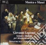 Giovanni Legrenzi - Sonate E Balletti X Strumenti Ad Arco cd musicale di Giovanni Legrenzi