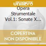 OPERA STRUMENTALE VOL.1: SONATE X VL E B cd musicale di Alessandro Stradella
