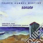 Cesar Franck / Hummel Johann Nepomuk - Sonata X Fl  - Sello Luisa  Fl/johannes Jess Kropfitsch Pf. cd musicale di CÉsar Franck