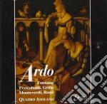 Ardo, Quadro Ascolanomadrigali, Canzoni, Scherzi Musicali Di: /quadro Asolano cd musicale