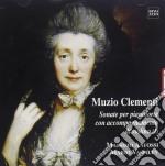 Clementi Muzio - Sonate X Pf Con Accompagnamento Di Vl Vol.1: Nn.4, 5, 6 Op.3, 1, 2, 3 Op.13 /massimo Anfossi Pianoforti, Mario Vassilev Violino cd musicale di Muzio Clementi
