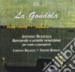LA GONDOLA (BARCAROLE E ARIETTE VENEZIAN cd musicale di Antonio Buzzolla