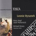 TOSCA (CANTATA IN TEDESCO) BERLINO 1953 cd musicale di PUCCINI