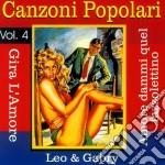 Canzoni Popolari, Vol. 4 cd musicale