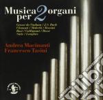 MUSICA PER 2 ORGANI cd musicale
