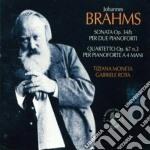 SONATA PER DUE PIANOFORTI OP. 34/B-QUART cd musicale di Johannes Brahms