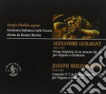 Alexandre Guilmant - Sinfonia In Re Minore Op. 42 cd musicale di Alexandre Guilmant