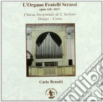 L'ORGANO FRATELLI SERASSI OPUS 638 (1857 cd musicale